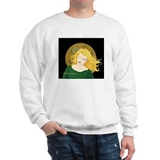 Grania and the Celtic spiral sun #1 Sweatshirt
