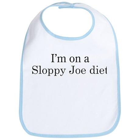 Sloppy Joe diet Bib