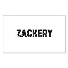 Zackery Rectangle Decal