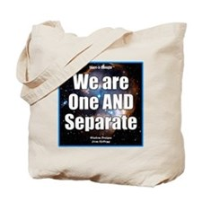One AND Separate iPhone Tote Bag