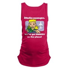 attention passengers PG.png Maternity Tank Top