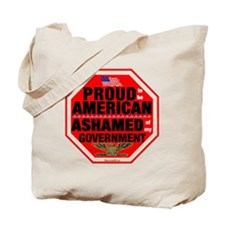 Proud to be American, but ... Tote Bag