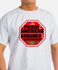 Proud to be American, but ... T-Shirt