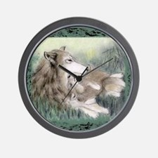 wolfmotherT Wall Clock