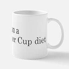 Peanut Butter Cup diet Mug