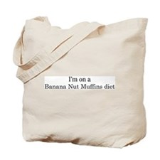 Banana Nut Muffins diet Tote Bag
