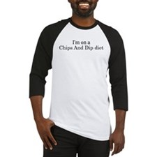 Chips And Dip diet Baseball Jersey