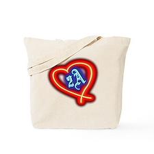 Second Amendment Love Tote Bag