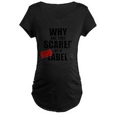 GMO Scared (Black) T-Shirt