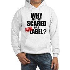 GMO Scared (Black) Hoodie