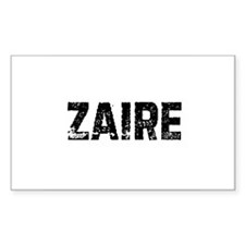 Zaire Rectangle Decal