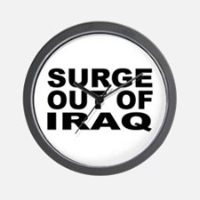 SURGE OUT OF IRAQ Wall Clock