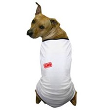 GMO Scared (White) Dog T-Shirt