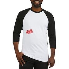 GMO Scared (White) Baseball Jersey