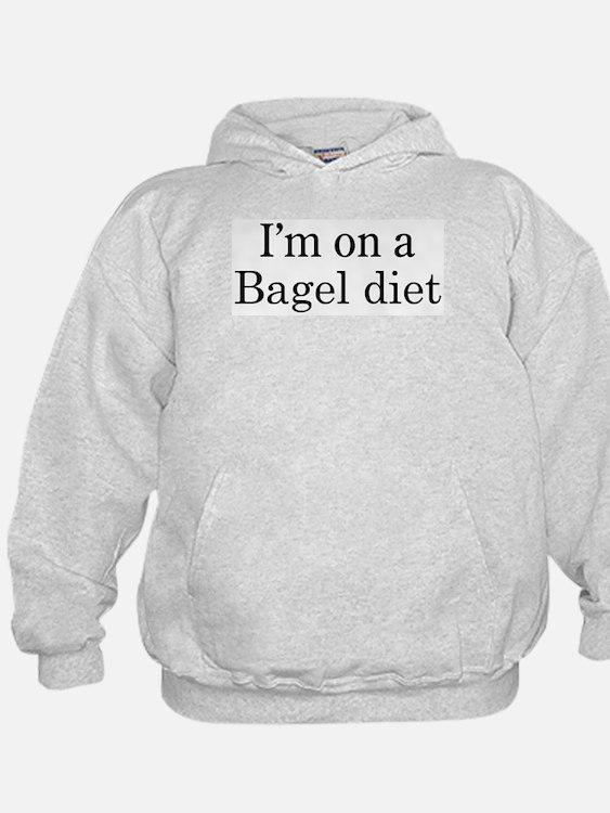 Bagel diet Hoodie