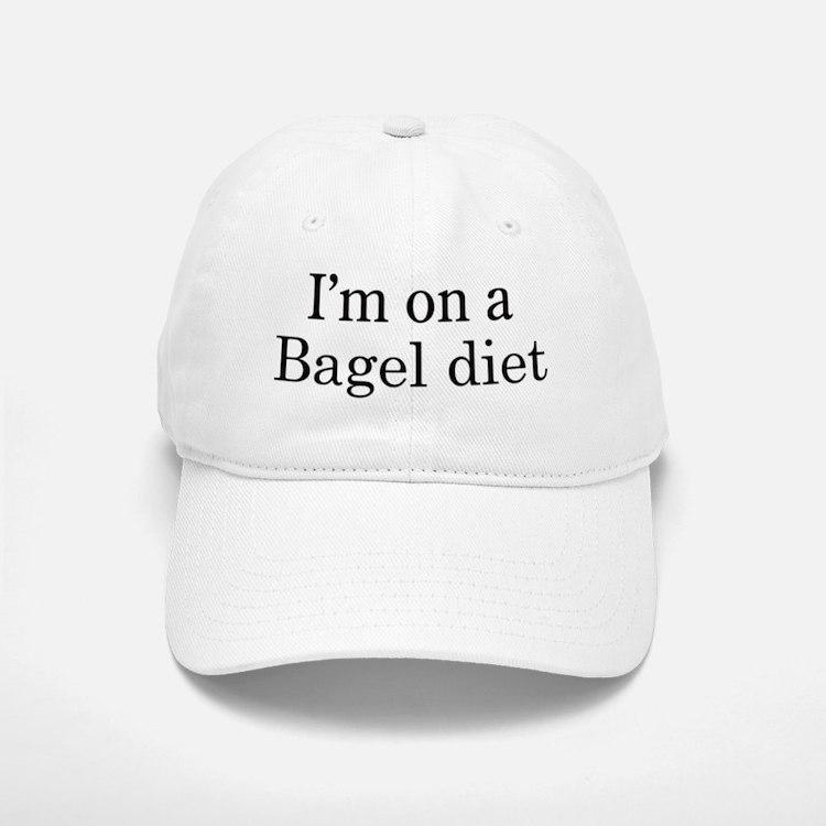 Bagel diet Baseball Baseball Cap