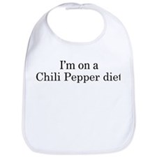 Chili Pepper diet Bib
