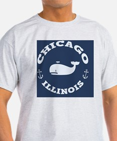 souv-whale-chicago-BUT T-Shirt