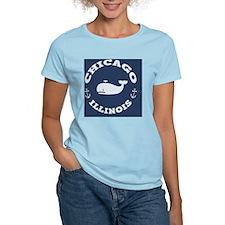 souv-whale-chicago-BUT T-Shirt