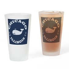 souv-whale-chicago-BUT Drinking Glass