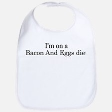 Bacon And Eggs diet Bib
