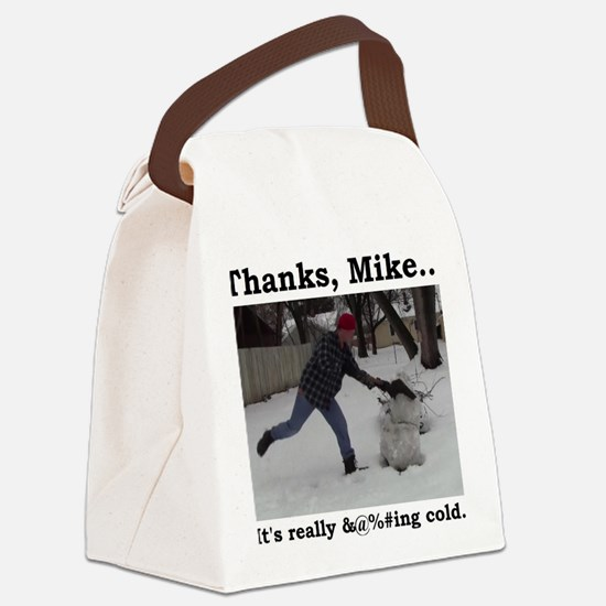 Really @%#ing Cold Canvas Lunch Bag