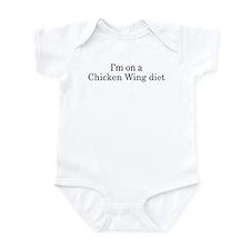 Chicken Wing diet Infant Bodysuit
