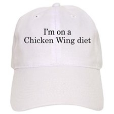 Chicken Wing diet Baseball Cap