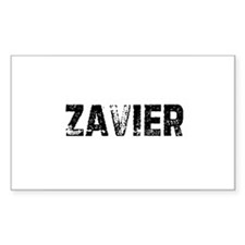 Zavier Rectangle Decal