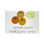 MRSA Rectangle Magnet (10 pack)