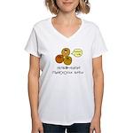 MRSA Women's V-Neck T-Shirt