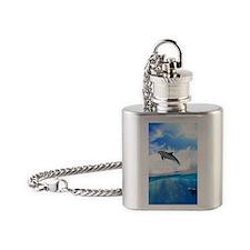 case46 Flask Necklace