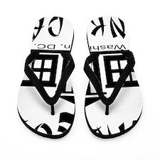 wht_Beaucoup_Dinky_Dau_Washington_DC Flip Flops