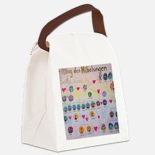 Der Ring des Nibelungen Family Tr Canvas Lunch Bag