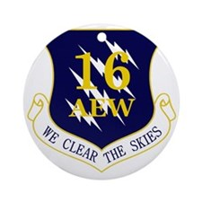 16th AEW Round Ornament