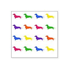 """popdawgs Square Sticker 3"""" x 3"""""""