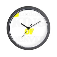 denvers greatest griller Wall Clock