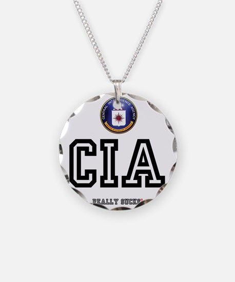 CIA - REALLY SUCKS! Z Necklace