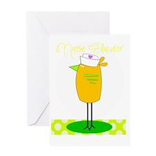 nurse educator darks Greeting Card