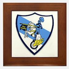 Blue Knights Logo Framed Tile