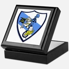 Blue Knights Logo Keepsake Box