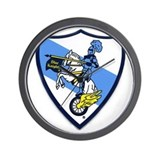 Blue knights Wall Clocks