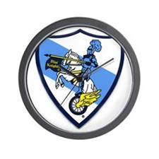 Blue Knights Logo Wall Clock