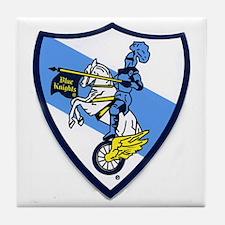 Blue Knights Logo Tile Coaster
