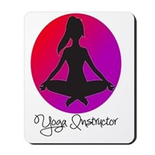 yoga instructor 3 Mousepad