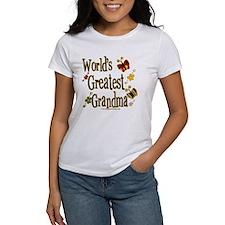 Grandma Butterflies Women's T-Shirt