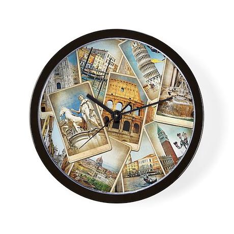 showercurtain684 Wall Clock