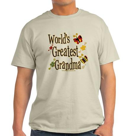 Grandma Butterflies Light T-Shirt