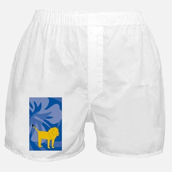 Lion 3 X 5 Area Rug Boxer Shorts