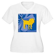 Lion 60 Curtains T-Shirt